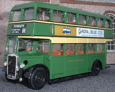 OOC 97854 Bristol K ECW Double Deck Bus