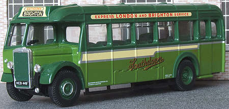 97057/2 Leyland Tiger PS1 ECW Half Cab Coach