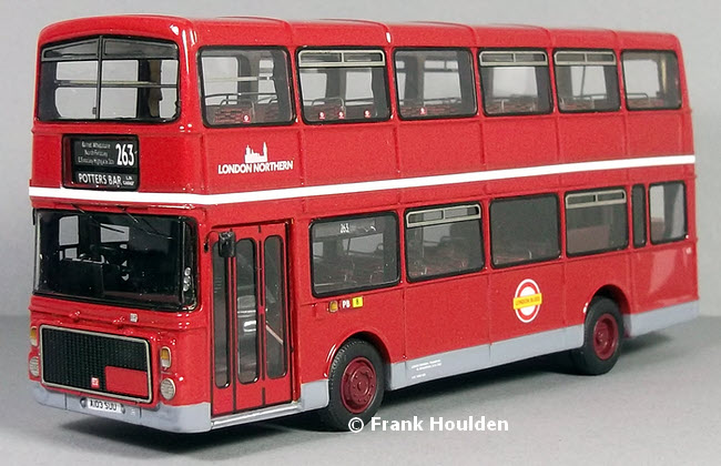 Modelbuszone - Jotus Model RES1001 - London Northern Volvo Ailsa B55 MkIII/Alexander