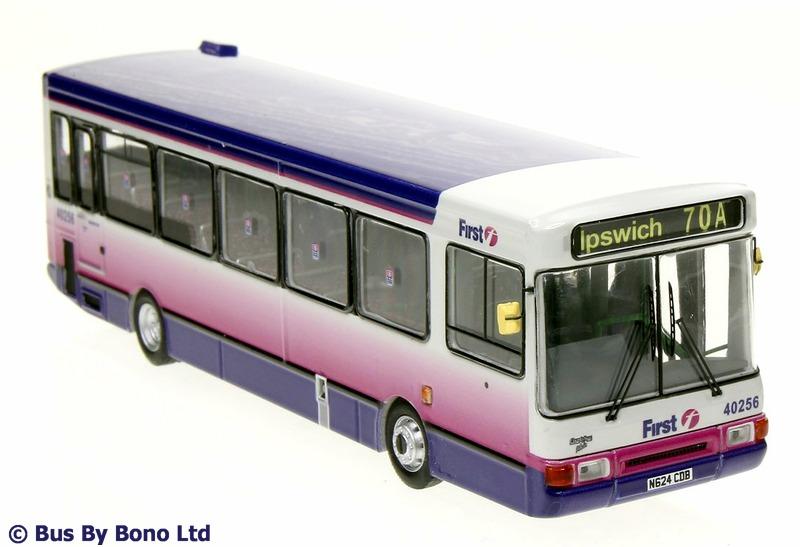 Modelbuszone Bus By Bono Ltd Model 100102 First